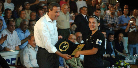 The presentation, made by Mr Hassan Sakr, President of the National Council of Sport ...