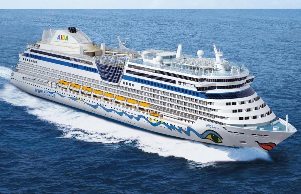 Siku Diecast Model Of Cruise Ship Aida Luna 11400  EBay