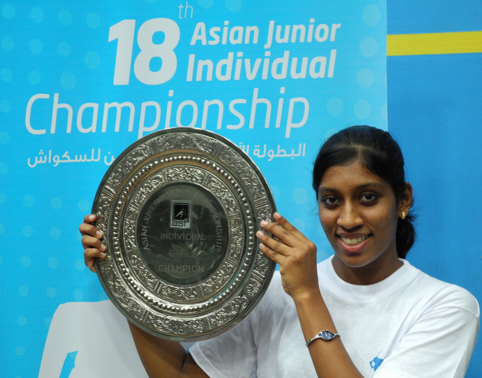asian junior squash championship 2009