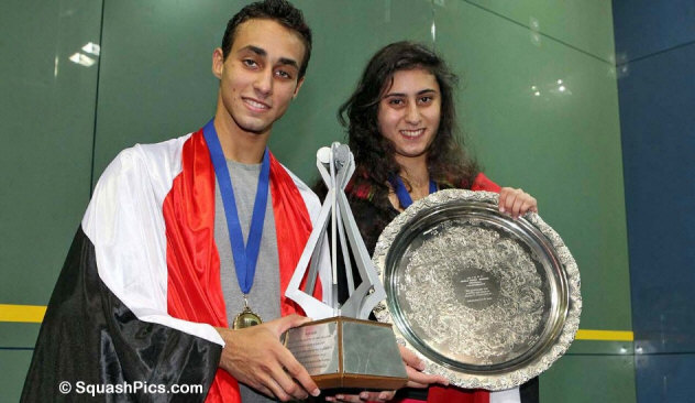 Nour El Sherbini, Karim El Hammamy