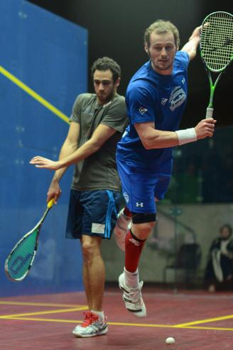 Ramy Ashour, Greg Gaultier, Kuwait PSA Cup