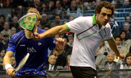 Ramy Ashour, Nick Matthew - North american Open 2013
